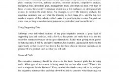 Business Plan Management Summary Business Plan Samples