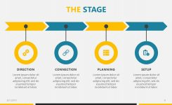 Business Roadmap Free Powerpoint Template