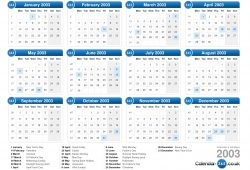 June 2003 Calendar Uk