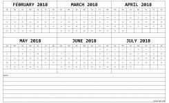 Calendar 2018 February To July Feb Mar Apr May Jun Jul 2018 Calendar
