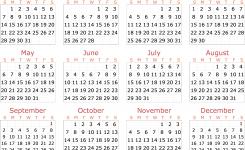 Calendar 2018 Transparent Png Png Mart