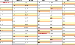 Calendar 2019 Uk 16 Free Printable Pdf Templates