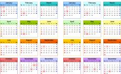 Calendar For 2018 And 2018 Idealvistalistco