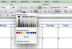 How To Put Appointments In Excel Calendar