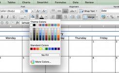 Calendar For Excel Calendar Month Printable