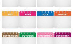 Calendar Icons Stock Vector Illustration Of Illustration 18299319