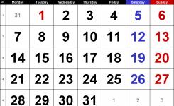 Calendar January 2019 Uk Bank Holidays Excelpdfword Templates