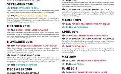Calendar Of Events Iida Oregon Chapter