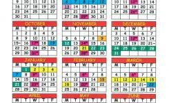 Calendar Parkwood Prep