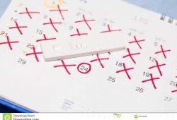 When To Take A Pregnancy Test Calendar