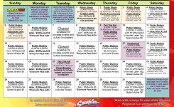 Calendar Sparkles Gwinnett Atlanta Roller Skating Rinks
