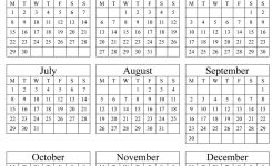Calendar Template 2019 Calendar Template 2019 Yearly Calendar