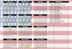 Calendar Usa With Holidays
