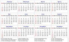 Calendar With Us Holidays 2018 Mathsequinetherapiesco