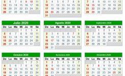 Calendario Colombia 2020 – Togo.wpart.co