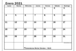 Calendario Enero Febrero Marzo Abril 2021