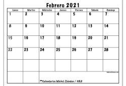 Calendario Enero A Abril 2021