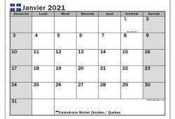 Mois De Janvier 2021