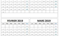Calendrier Vierge Dcembre 2018 Janvier Fvrier Mars 2019 Imprimer