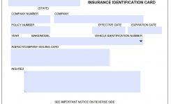 Car Insurance Cards Templates Business Template Idea
