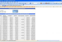 Auto  Loan  Spreadsheet  Excel