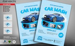 Car Wash Flyer Template Creative Touch Graphicriver