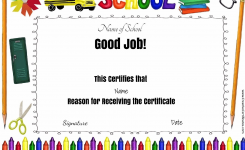 Certificate Of Completion Template Printable Copy Award Certificates
