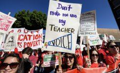 Charter School Debate Fueling The Los Angeles Teacher Strike Time