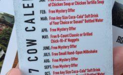 Chick Fil A Calendar Free Flash Design