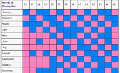 Chinese Calendar Ba Gender Chart Calendar Pinterest Chinese