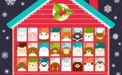 Christmas Advent Calendar Royalty Free Vector Image