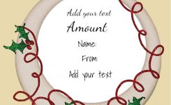 Christmas Gift Certificate Template 31 9561411 Gift Ideas