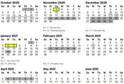Cobb County Calendar 2021 18