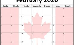 Collection Of February 2020 Photo Calendars With Image Filters