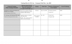 Corporate Training Plan Template Boatjeremyeatonco