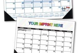 Custom Desk Pad Calendar