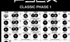 Custom P90x Classic Calendar Workout Stuff Pinterest Workout