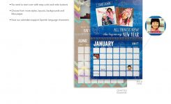 Custom Wall Calendar Uk Flash Design