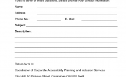 Customer Contact Form Template Boatjeremyeatonco