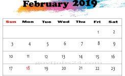 Cute February 2019 Calendar Wallpaper For Kids Govt Jobs 24