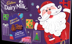 Dairy Milk Advent Calendar Christmas Chocolate Cadbury Gifts Direct
