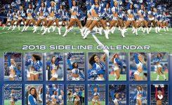 Dallas Cowboy Cheerleaders Calendar 2018 Calendar Club Uk