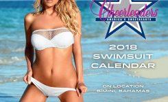 Dallas Cowboys Cheerleaders 2018 Mini Wall Calendar 9781469352329