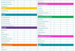 Dave  Ramsey  Budget  Sheet  Printable