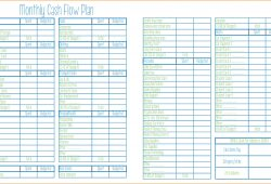 Monthly Budget Worksheet Dave Ramsey