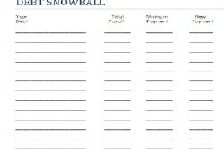 Dave Ramsey Snowball Excel