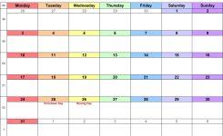 December 2018 Calendar With Holidays Uk Monthly Calendar Template