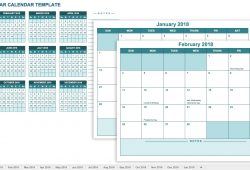 Download Free Calendar 2018 Excel