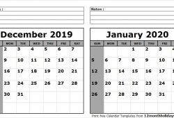 Calendar 2021 Notes