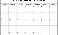December 2020 Calendar 56 Templates Of 2020 Printable Calendars